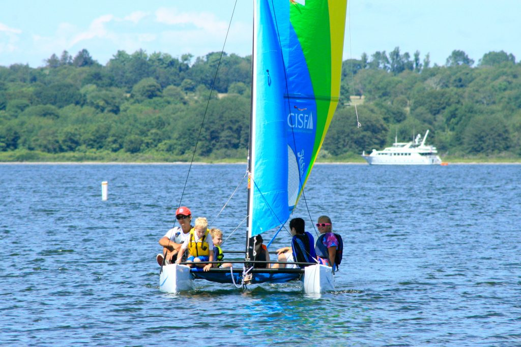 Learn sailing basics with CISF Free Sailing this summer